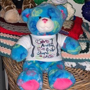 Build a Bear Peace/Sign Bear